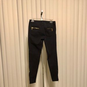 Michael Michael Kors skinny multi zippered jeans
